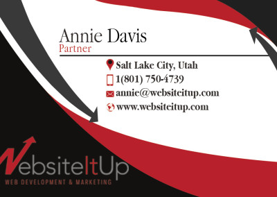 Annie-front of Business Card