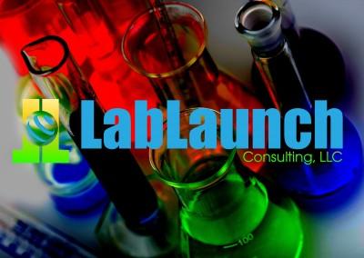 lablaunch custom logo design