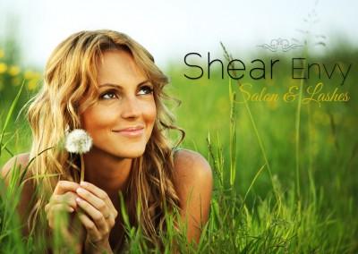 shear envy banner design