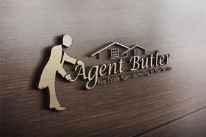 agent butler graphic design